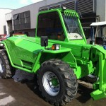 Merlo after rust repair & refinish